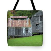 Abandoned Shack By The Road Tote Bag