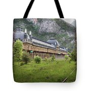 Abandoned Side Of The Canfranc International Railway Station Tote Bag
