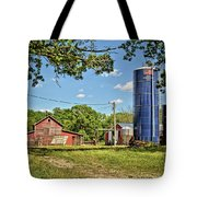 Abandoned Spring Farm Tote Bag