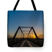 Abandoned Steel Bridge Tote Bag