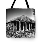 Abandoned Stone House Tote Bag