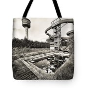 Abandoned Swimming Pool - Lost Places Tote Bag