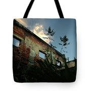 Abandoned Theater Oasis Tote Bag