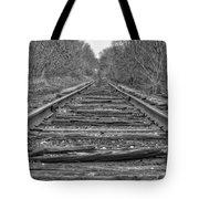 Abandoned Tracks Tote Bag