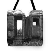 Abandoned Train Cars B Tote Bag