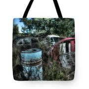 Abandoned Vehicles - Veicoli Abbandonati  1 Tote Bag