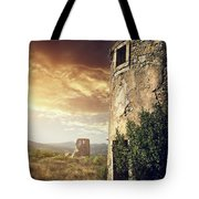 Abandoned Windmills Tote Bag