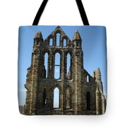 Abbey At Whitby  Tote Bag