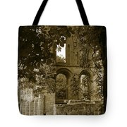 Abbey In Kelso. Tote Bag