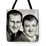 Abbott And Costello Tote Bag