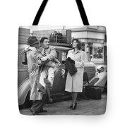 Abbott And Costello Tote Bag