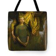 Abbott Handerson Thayer 1849 - 1921 Boy And Angel Tote Bag