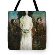 Abbott Handerson Thayer - My Children Tote Bag
