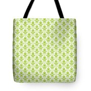 Abby Damask With A White Background 09-p0113 Tote Bag