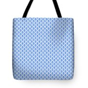 Abby Damask With A White Background 18-p0113 Tote Bag