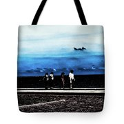 Abby Road By The Bay Tote Bag
