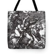 Abduction Of Proserpine On A Unicorn 1516 Tote Bag