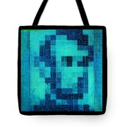 Abe In Aqua Tote Bag