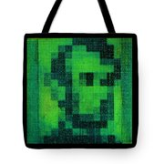 Abe In Green Tote Bag
