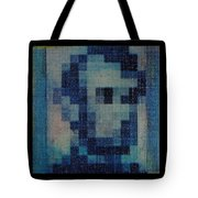 Abe In Light Blue Tote Bag
