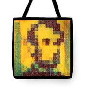 Abe In Yellow Tote Bag
