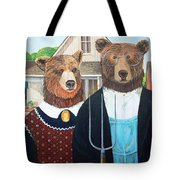 Abearican Gothic Tote Bag