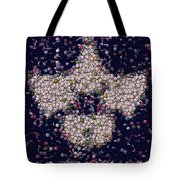 Abide Bottle Cap Mosaic Tote Bag