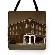 Abilene Kansas - Spruce And 3rd Sepia Tote Bag