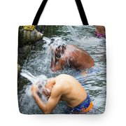 Ablutions Tote Bag