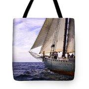 Aboard The Adventurer Tote Bag