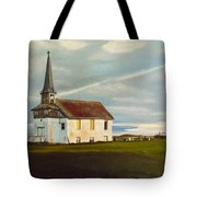 Abondoned Church Tote Bag