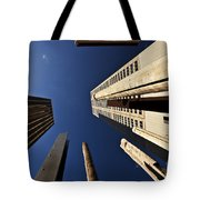 Aboriginal Sound Poles Tote Bag