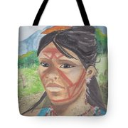 Mujer Indigena Tote Bag