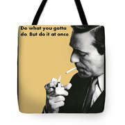 About Action Tote Bag