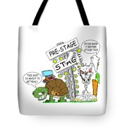 About To Get Real Tote Bag