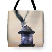 About To Take Flight Tote Bag