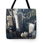 Above Chicago 2 Tote Bag