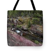 Above Redrock Falls Tote Bag
