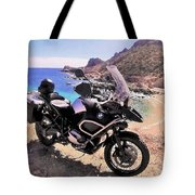 Above The Beach Tote Bag