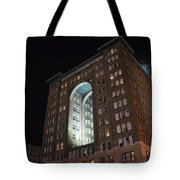 Above The Byham Theater Tote Bag