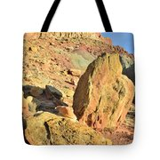 Above The Campground Tote Bag
