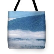Above The Clouds Panoramic Tote Bag