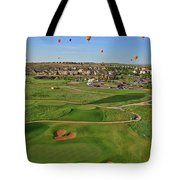 Above The Course Tote Bag