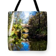 Above The Rapids Tote Bag