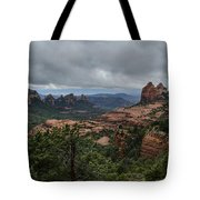 Above The Red Rocks Of Sedona  Tote Bag