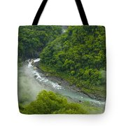 Above The River Tote Bag
