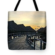 Above The Water II Tote Bag