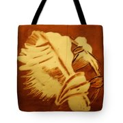 Abraham - Tile Tote Bag
