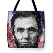 Abraham Lincoln - 16th U S President Tote Bag