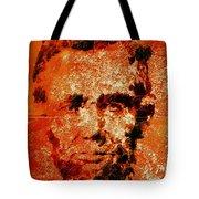 Abraham Lincoln 4d Tote Bag